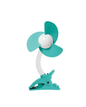 EZY-Fit Clip-On Fan, Aqua