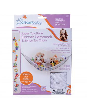 Super Toy Store Corner Hammock with Bonus Toy Chain