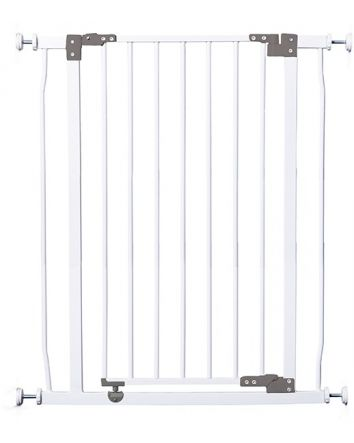 Liberty Extra Tall 29.5-33in Auto Close Metal Baby Gate  - White
