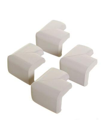 Classic Foam Corner Protectors - 4 Pack, Grey