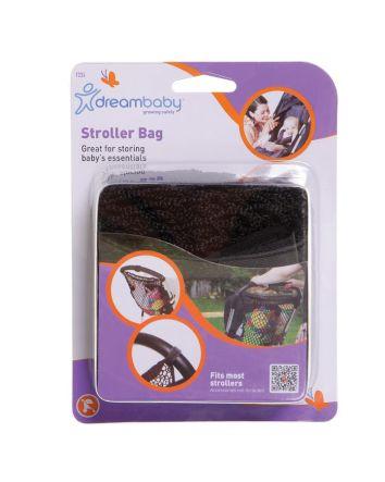 Strollerbuddy® Stroller Net Bag - Black Mesh