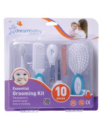 Essential Grooming Kit - 10 Piece, Aqua