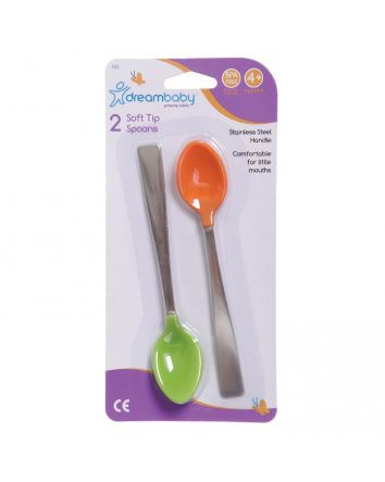 SOFT TIP SPOONS 2 PACK