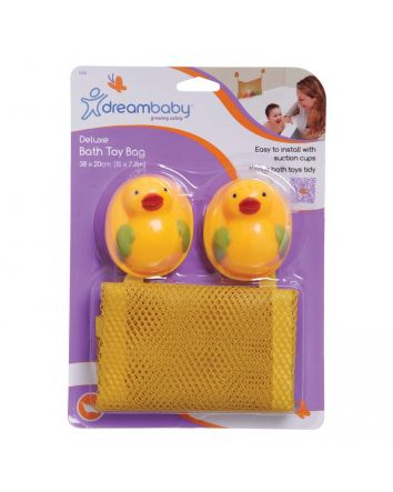 DELUXE BATH TOY BAG