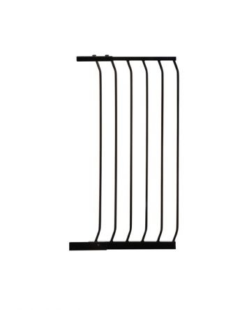 "Chelsea 17.5"" Xtra-Tall Gate Extension - Black"