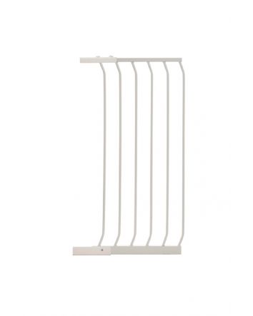 "Chelsea 17.5"" Xtra-Tall Gate Extension - White"