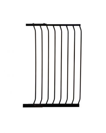 "Chelsea 24.5"" Xtra-Tall Gate Extension - Black"