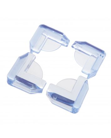 Glass Table & Shelf Corner Cushions - 4 Pack