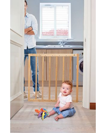 Hudson Gro-Gate® - Natural Wood