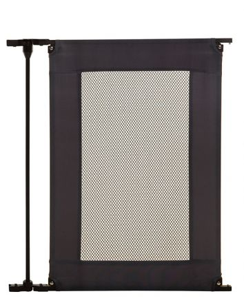 Extension Panel for Brooklyn Converta® and Denver Adapta Gates®  - Black Metal w/ Grey Mesh