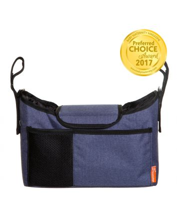 Strollerbuddy®  On-The-Go Bag - Denim