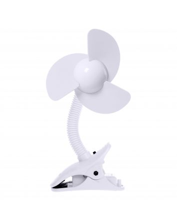 EZY-Fit Clip-On Fan, White