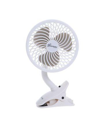 EZY-Fit Deluxe Clip-On Fan - White