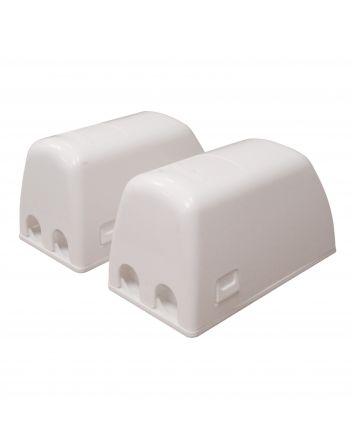 Dual Fit Plug &Electrical Outlet Covers - 2 Pack