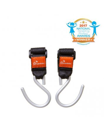Strollerbuddy® EZY-Fit Stroller Hooks - 2 pack