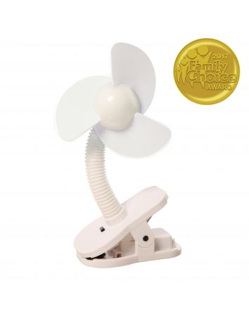 Clip-on Fan - White