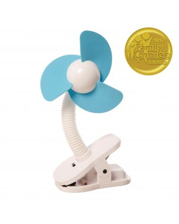 Clip-on Fan - White/Blue