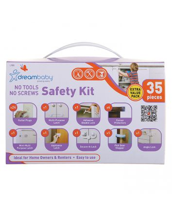 NO TOOLS, NO SCREWS, SAFETY VALUE PK 35PC