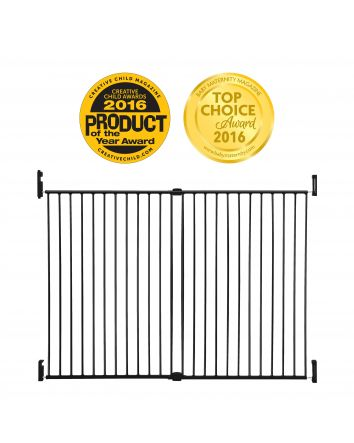 Broadway Xtra-Wide & Xtra-Tall Gro-Gate® - Black