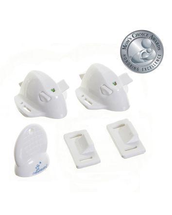 Adhesive Mag Locks®- 2 Locks and 1 Key
