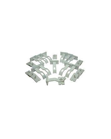Adhesive Double Locks - 12 pieces