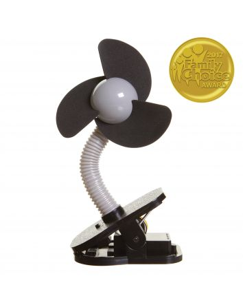 Clip-on Fan - Silver/Black