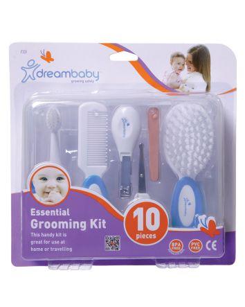 Essential Grooming Kit - 10 Piece, Blue
