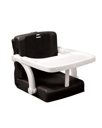 Portable Booster Hi Seat - Black / White