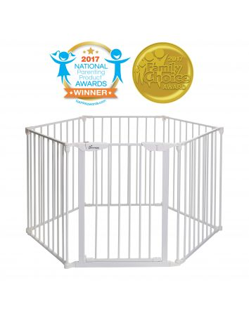 Mayfair Converta® 3-in-1 Play-Pen Gate - White